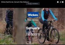 Wickes advert - Samuel's new bedroom 725 x500