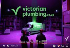 Victorian Plumbing Green Button ad
