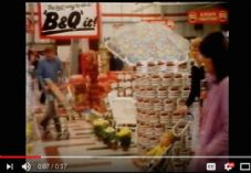 B&Q TV Advert - April 1981