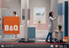 B&Q Calm the Chaos TV advert