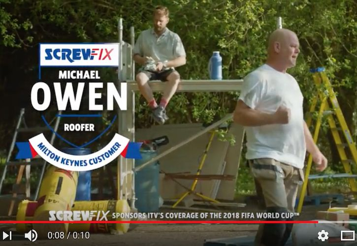 Screwfix World Cup Sponsorship