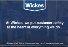 Wickes let's do it right safely